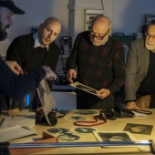 Prima di cominciare però si fanno un paio di prove per verificare che tutto funzioni a dovere. © Salvo Veneziano/Palermofoto.