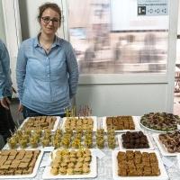 Lo straordinario rinfresco preparato e offerto da Alessia Aloe di Diritto in cucinache ha deliziato gli intervenuti al termine della serata.