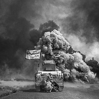 Hossein Velayati, dalla mostra Statement war in  Iraq. © Hossein Velayati.