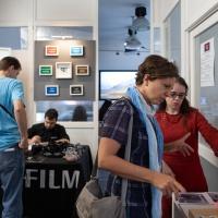 FPschool Open Day 2019, ci si informa sui corsi e si provano le fotocamere Fujifilm grazie alla collaborazione con Fujifilm Italia. © Gianfranco Ferraro/FPschool.