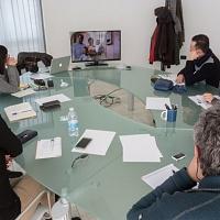 Durante la prima lezione del Corso di Linguaggio di FPschool presso Foto16|Club a Suzzara MN.