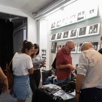 FPschool Open Day 2019, grande curiosità intorno alla postazione allestita da FujifilmItalia per il Touch&Try delle fotocamere serie X e della gamma GFX. © Gianfranco Ferraro/FPschool.