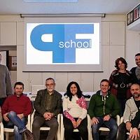Foto di Gruppo al termine del workshop di Introduzione alla lettura delle immagini tenuto da Sandro Iovine presso ASFA nella Repubblica si San Marino. © Davide Arlotti.