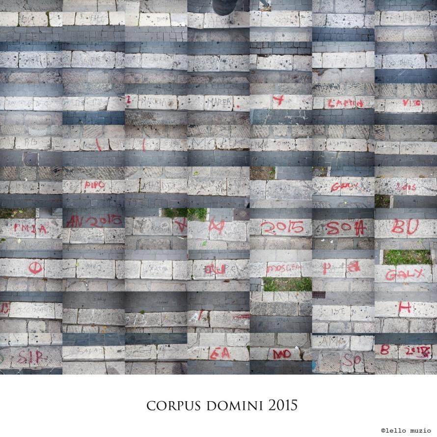 mosaico - corpus domini 2015