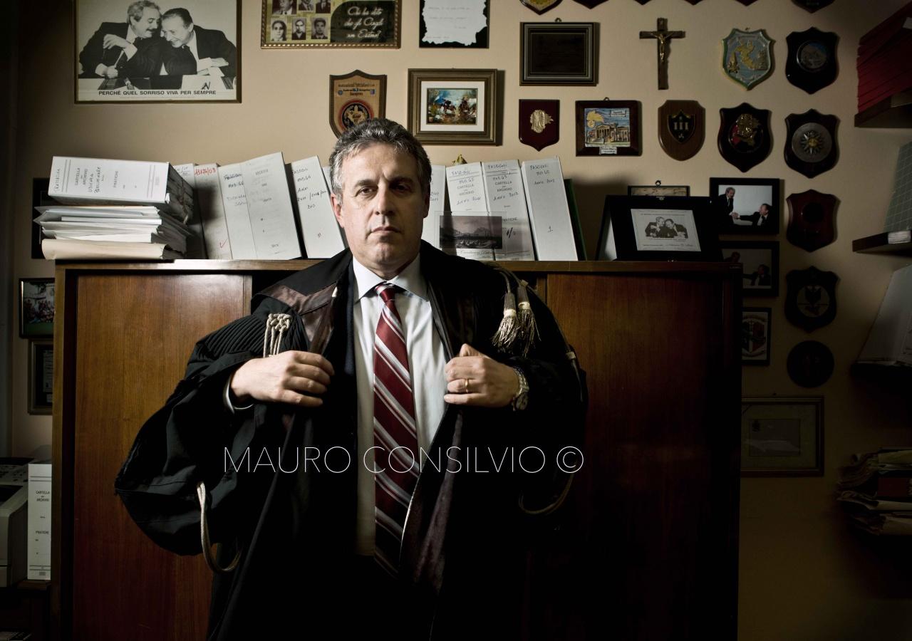 Nino Di Matteo magistrate of Palermo